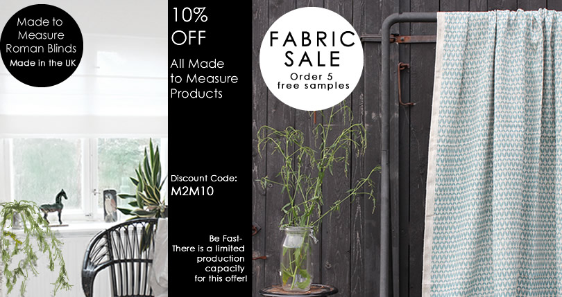 Linen Fabric - Linen Curtain - Curtain Fabric Online UK
