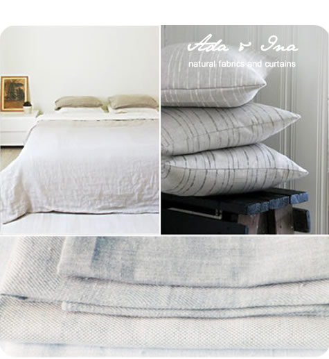 Linen bedding, Bed linen in 100% linen