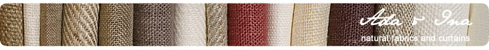 Ada & Ina Fabrics for curtains, upholstery, blinds