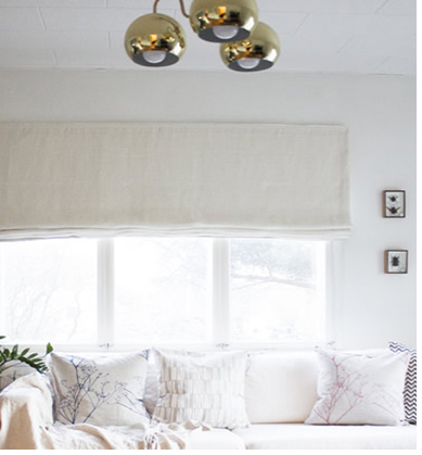 White Linen Fabrics by Ada & Ina