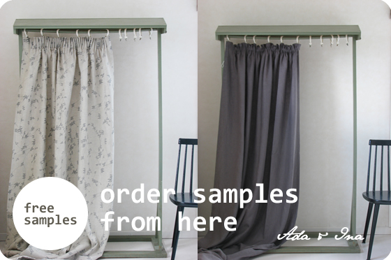 Buy made to measure blackout curtains online - Order free samples