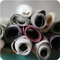 Curtain sewing service for commercial clients