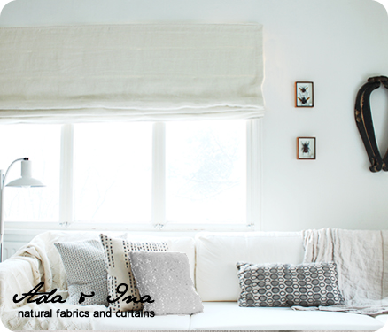 Curtain styles by Ada & Ina
