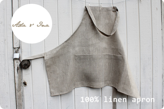 linen apron wholesale