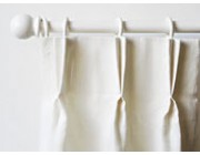 Double pleat curtains from Ada & Ina - Shop curtains online