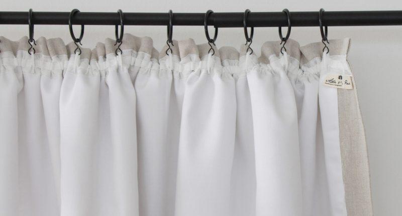 Hanging Gathered Curtains