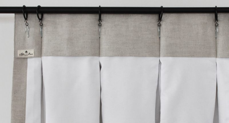 Hanging Triple Pleat Curtains