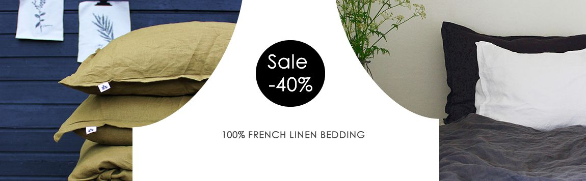 Linen Bedding UK Sale! 40% Discount, lovely colours to choose from!