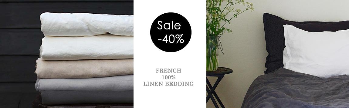 Linen Bedding UK! Linen Duvet Cover - Sale- Discounted