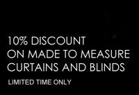 10% OFF Made to measure products