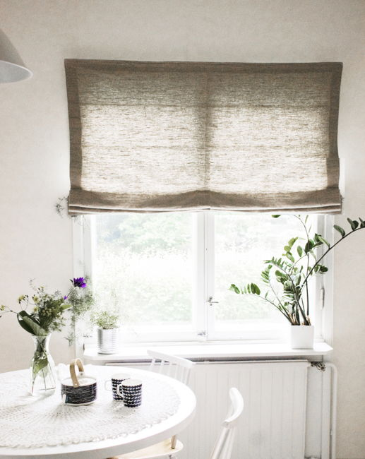 Linen Blinds Linen Roman Blinds Bespoke Blinds