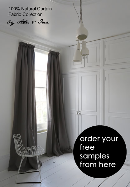 Designer Curtain Fabrics Online - Order Samples of Fabric for Made to Measure Curtains