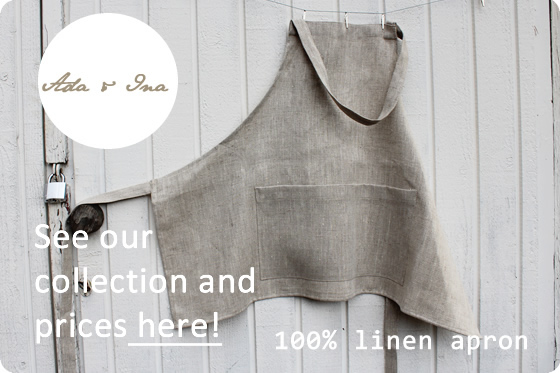 Linen aprons Wholesale